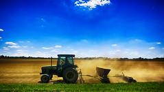 Thumbs Up (Mark ~ JerseyStyle Photography) Tags: markkrajnak jerseystylephotography allentownnjlife farmer sodfarmer allentownnj newjersey august2016 2016 tractor farming dirt dust