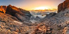 Dolomites de Brenta, sunset. (Alexandre Carpentier) Tags: italie dolomites paysage viaferatta wwwalexandrecarpentiercom molveno trentinoaltoadige it