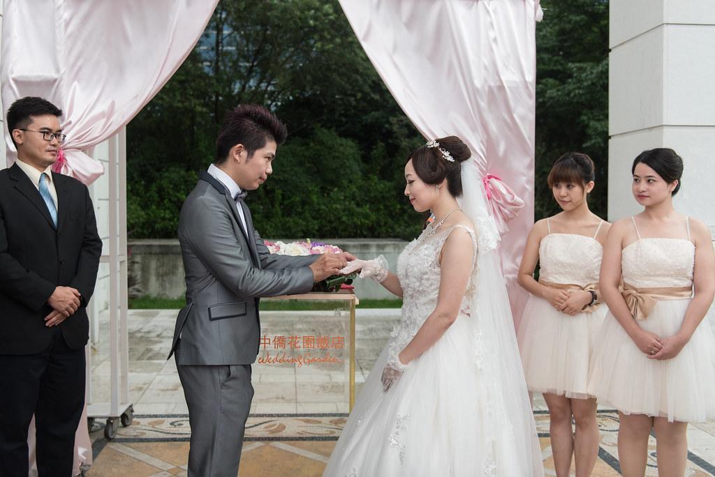 中僑花園飯店婚禮記錄雅琇與紋瑞-65