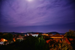 Relaxing with a view (deppy_kar) Tags: landscape nightsky sky night nightscape mountains homes roofs shore nature lights hill view trees greece greek meliki imathia macedonia nikon nikond5200 d5200 dslr nikkor clouds macedoniagreece makedonia timeless macedonian