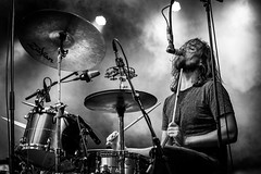 Breda Barst 2016 (Chris Kooistra) Tags: breda barst 2016 music band nice capture bw black white drums drummer a7 a7rii sony 70200 great action shot mono chrome fantastic amazing