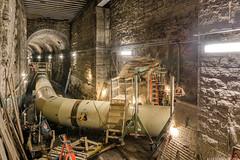 Alive again (AccessDen1ed) Tags: penstock hydro tunnel headrace mill construction