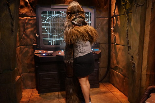 """Tracey meets Chewbacca • <a style=""""font-size:0.8em;"""" href=""""http://www.flickr.com/photos/28558260@N04/29146867321/"""" target=""""_blank"""">View on Flickr</a>"""