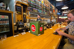 Drinking Pliny at Russian River brewing company (morten f) Tags: drinking pliny russian river brewing company elder ipa craftbeer bar pub taproom pint santa rosa california beer craft sour america usa