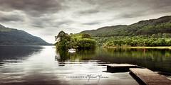 Loch Lomond - Trossachs - Scotland (BetweenHeartandArt) Tags: ecosse green land lanscape lochlomond scotland trossachs water