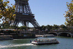 The River Seine and the Eiffel Tower, Paris (Ronto) Tags: princesscruises caribbeanprincess paris france riverseine eiffeltower