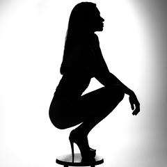 Amber (DanGarv) Tags: d810 model blackandwhite nude