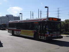 New Flyer D40LF #7340 on the 123C Shorncliffe Run (generalpictures) Tags: kiplingstation 123cshorncliffe 123shorncliffe newflyer d40lf 7340 torontoontario etobicokeontario torontotransitcommission ttc ttcbus