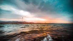 Kalba lagoon (izaabi) Tags: emirates emirati uae cityscape city gopro photo color landscape sunset sea lagoons kalba