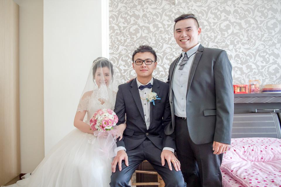 台南婚攝 情定婚宴城堡永康館 婚禮紀錄 C & V 090