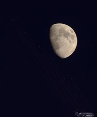 Lune avions (FileasFog) Tags: astro astrophotographie lune saturne messier m51 jupiter voie lactée