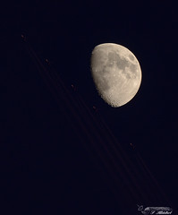 Lune avions (FileasFog) Tags: astro astrophotographie lune saturne messier m51 jupiter voie lacte
