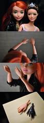 batgirl/raquelle hybrid (reiha.) Tags: batgirl mattel raquelle barbie doll skin match hybrid hands gloves dcsuperherogirls