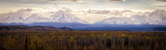 End of autumn, end of day (frostnip907) Tags: autumn fall alaska mountains alaskarange panorama