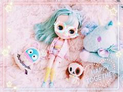 Jelly (kibblesthepig) Tags: wendy weekender blythe doll fbl takara pink pastel tokidoki