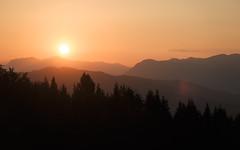 When the day is saying goodbye (Dejan Hudoletnjak) Tags: landscape sunset mountains valley evening summer nature land earth slovenia slovenija