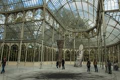 interior del Palacio de Cristal (Pat Celta) Tags: nikon d70 nikkor18140mm madrid retiro parque palacio de cristal viajes trip octubre 2016