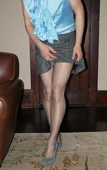 Cleancut2 (sensuousPH) Tags: pantyhose tights platino cleancut sheer pumps crossdress heels millenium