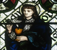 [45610] St Editha, Tamworth : St John the Evangelist (Budby) Tags: tamworth staffordshire church window stainedglass preraphaelite