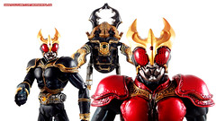 Kamen Rider Kuuga and Gouram Wallpaper 3 (BerserkFlow) Tags: sic superimaginativechogokin kamen rider kuuga toy action figure mighty form amazing gouram shfiguarts bandai masked volume vol 56 decade
