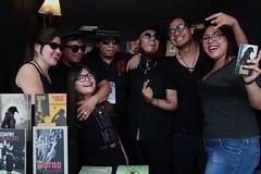 La Banda (Jos Lira) Tags: libros banda dark feria zcalo mxicofil16