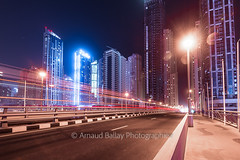 Marina Bridge (http://arnaudballay.wix.com/photographie) Tags: architecture city cityscape landscape uae urbain ville dubai ãmiratsarabesunis ae bridge marina dubaimarina marinawalk night urban street lights tramway emirates vacation sun travel voyage emirats moyenorient arabie middleeast filter longexposure poselongue poselente slow gndfilter filtreneutre nisifilter leefilter nd1000 nd110 contemplation contemplative nikon nikond610 d610 nikkorafs1635mmf4vr 1635mm nikkor