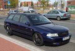 A4 Avant (Schwanzus_Longus) Tags: bremen german germany modern car vehicle station wagon estate break combi kombi blue audi a4 avant tuner tuned custom spotted spotting carspotting
