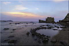 Cala del Embarcadero (juanmerkader) Tags: monsul nikond750 picture seascape seascapes beach nikon nocturna nocturnas pic picofftheday playa sand sea almera andaluca arena andalusia agua spain europe cabodegata