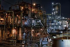 Feast -  (uemii2010) Tags: japan kawasaki technoscape  factory industrial plant night lights pipescape pipes longexposure kanagawa sigmadp3merrill architecture