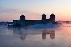 Olavinlinna Castle (Ekonomies) Tags: castle fortress cold winter savonia savonlinna