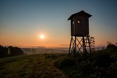 mauthausen-osten-sunrise-1615-1 (Ralph Punkenhofer) Tags: dunst frhnebel herbst herbstmorgen mauthausen mist osten sunrise nebel orange light blue sky nature outdoor hiking wandern jaegerstand sonnenaufgang landscape