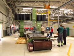 Milling machine (transport131) Tags: bdzin t kzk gop frezarka lathe zajezdnia depot
