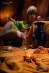 6 (haine.otomiya) Tags: cosplay cosplayer guy male free makoto arabian arabic anime manga tent warm candle soft indoor shooting setting