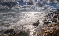 Fresh October (Stefan Sellmer) Tags: wind strande d750 nikon beachlife kste wasser outdoor steine wellen stones bluesky longexposure coast beach ostsee strandleben strand balticcoast balticsea water blk clouds waves kiel wolken sturm blk kste