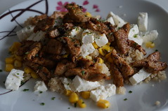 DSC03744 (Kirayuzu) Tags: essen gericht food meal coucous gyros feta mais gyro corn