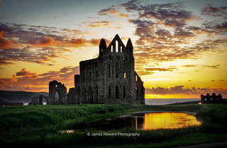 Whitby Abbey Sunset-2