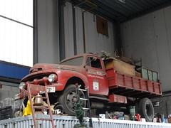 Ford F5 truck ca. 1951 Hilversum (willemalink) Tags: ford f5 ca 1951 hilversum