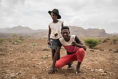 Cool People in Cabo Verde (ReinierVanOorsouw) Tags: reiniervanoorsouw reizen travel travelphotography hat wearingahat 2people boygirl portrait  travelling  capo verde capoverde caboverde capeverde  yeilburunadalar island kaapverdie travels travelstoke sids iwrm dry drought people