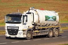 DAF CF Euro 6 - SCOTTISH WATER (scotrailm 63A) Tags: lorries trucks tankers