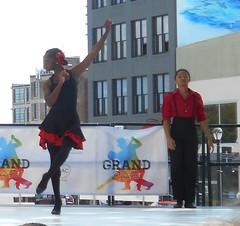 SIUE University Dance Company (MBK (Marjie)) Tags: dance grandcenter washingtonavenue strausspark grandblvd stl mo saintlouis missouri 2016 september17 festival granddancefest