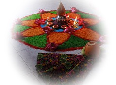 Lakshmi Pooja (ajithaa) Tags: offerings lakshmipooja goddesslakshmi decorations lamp blessings goddess lakshmi