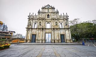 Ruines de l'église Saint-Paul, Macao