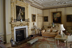 Lady And The Lamp (dhcomet) Tags: wimpole hall national trust stately home cambs cambridgeshire sitting room