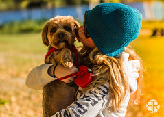 _MG_9466 (Brandon Ricklefs) Tags: explorersoflight naturallight goldenhour nature park libertystatepark girlfriend girl dog adventure vsco vscocam