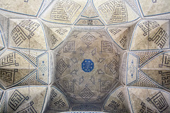 Ceilings of Jmae Mosque (Ali Shojaee) Tags: isfahan iran iranian art architecture arch dome tile stucco brick mehrab