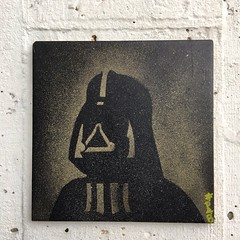 Dark Vador (PhilippeFabry) Tags: streetart streetartist darkvador