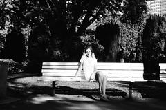 (Benz Doctolero) Tags: canon t50 50mm black white bw girls sacramento california kodak trix 400 film monochrome