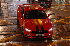 Ford, Mustang V8, Central, Hong Kong (Daryl Chapman Photography) Tags: urs ford mustang v8 american central 1d mkiv 2470mm wet rain typhoon t3 car cars auto autos automobile canon eos is ii f28 road engine power nice wheels rims hongkong china sar drive drivers driving fast grip photoshop cs6 windows darylchapman automotive photography hk hkg bhp horsepower brakes gas fuel petrol topgear headlights worldcars daryl chapman