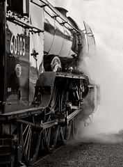 Power of the Scotsman (Nigel Gresley) Tags: 60103 flying scotsman profile steam motion