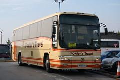 Fowler's (VDO929) (Thomas O'Neill Transport Photos) Tags: fowlers vdo929 volvo b12m plaxton paragon